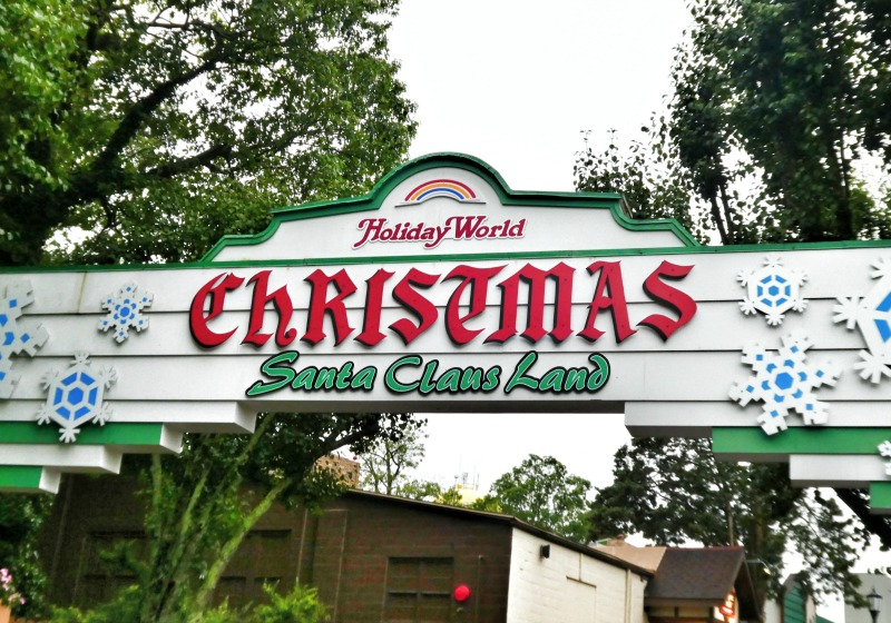 What is Holiday World in Santa Claus, Indiana?