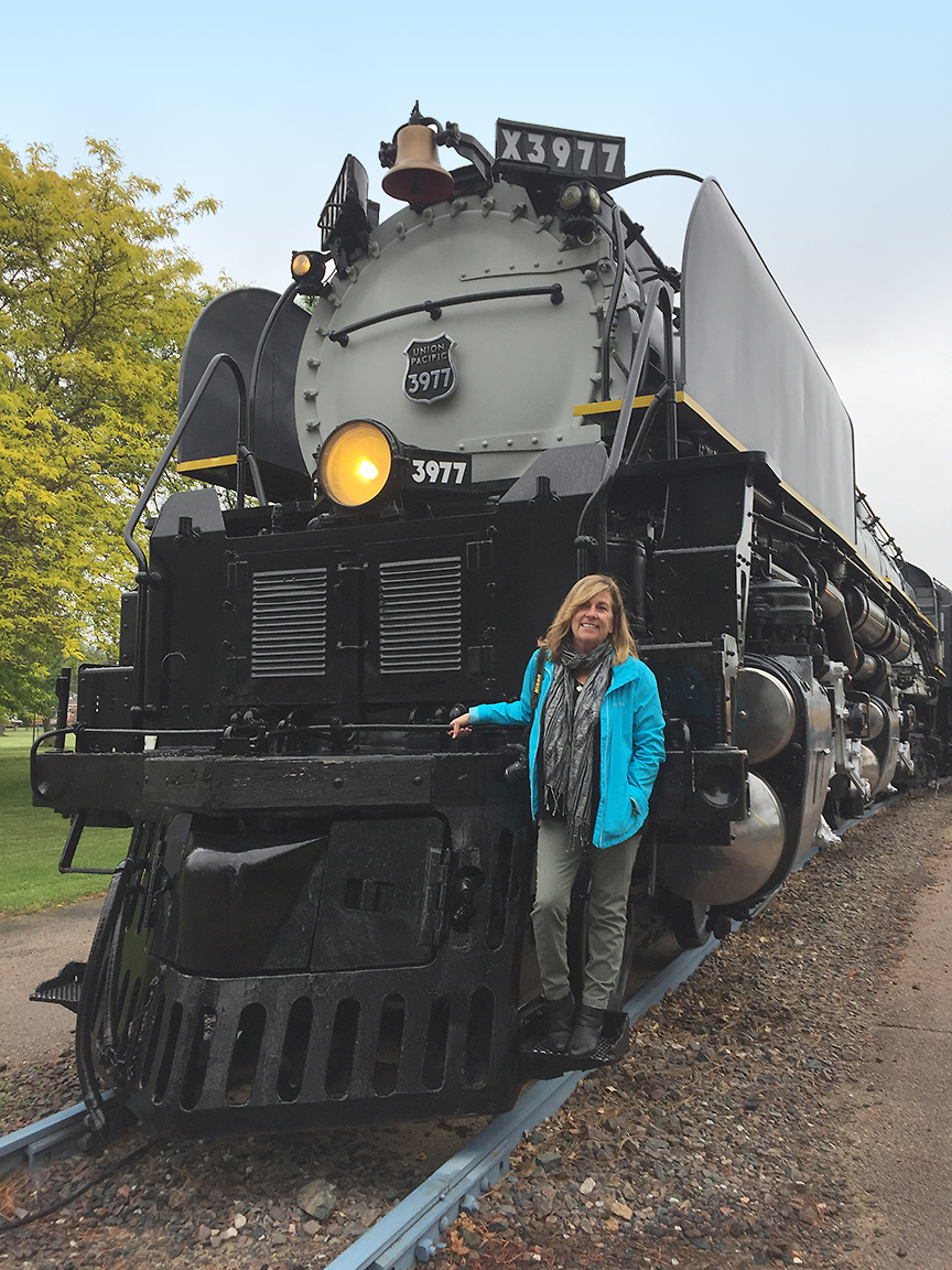 Trains played a big part in the old west too., and discover family fun in Nebraska at Cody Park