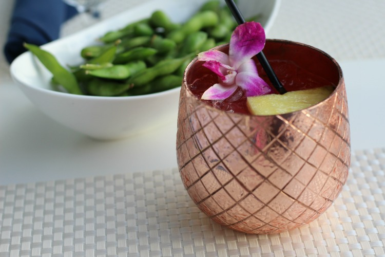 For a drink that's pretty as well as tasty, try the Maui Mule