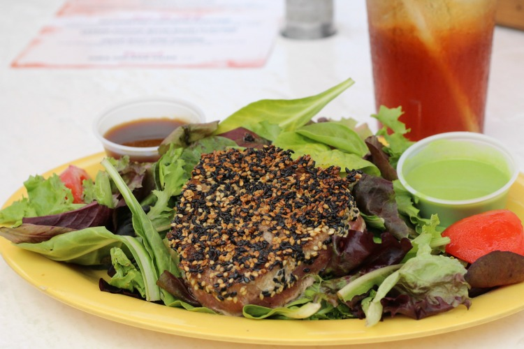 If you like tuna, try the Sesame Tuna Salad at Frenchy's in Clearwater, Florida