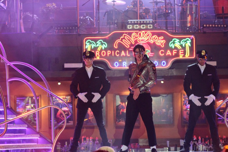 Even Michael Jackson performs at Mango's Tropical Cafe