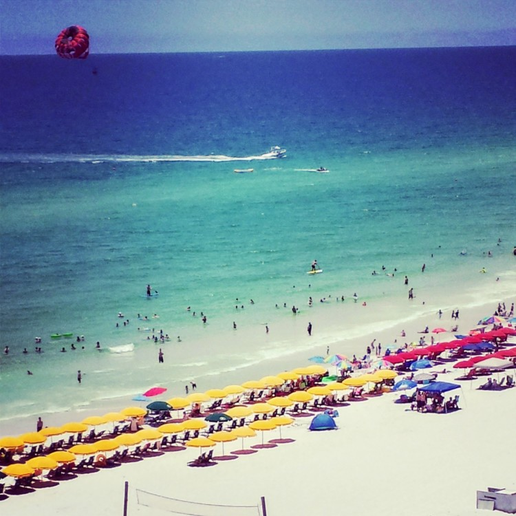 The white sand beaches at Hilton Sandestin, one of the top luxury Florida hotels, are fantastic for families.