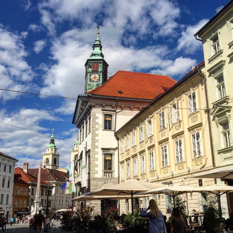 Architecture is one the best reasons to visit Ljubjana, Slovenia