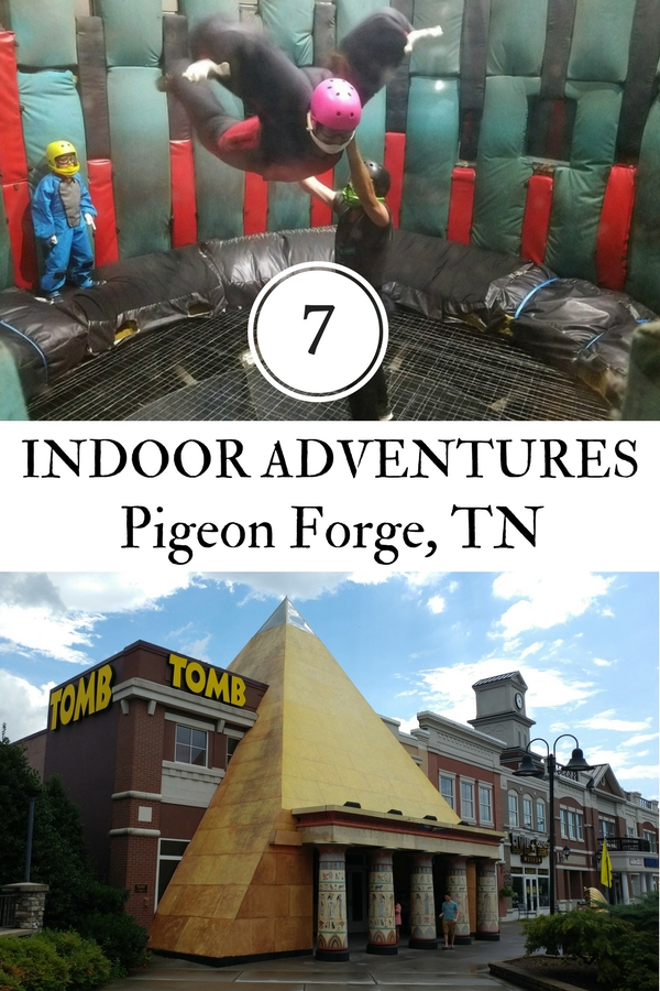 There is plenty to do in Pigeon Forge, TN but it's good to know the good indoor activities for family vacations if the weather is bad.