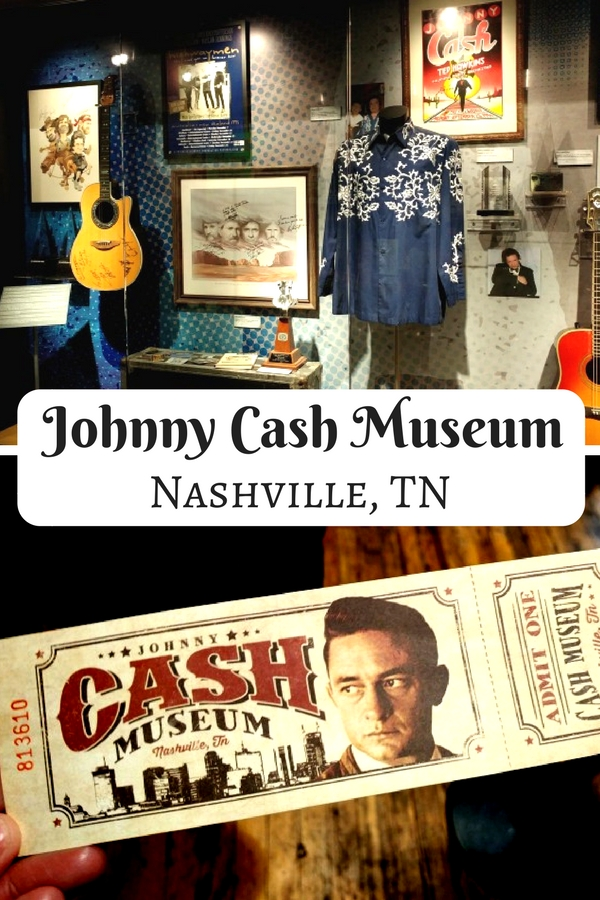 In downtown Nashville, while you're enjoying country music in the honky tonks on broadway, stop by the Johnny Cash Museum and pay homage to a classic country legend.