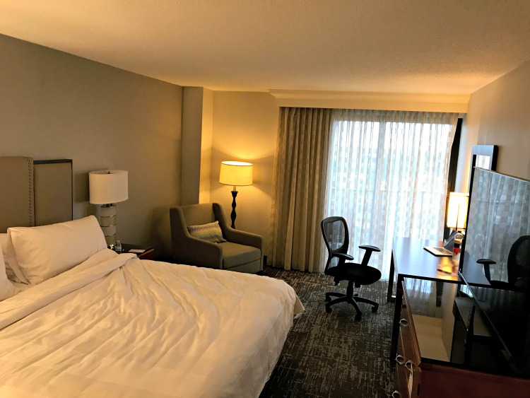 King Room at Anaheim Marriott