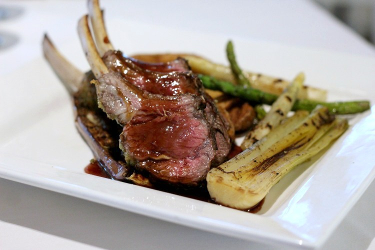 Meat lovers will enjoy the lamb at Ocean Hai restaurant in Clearwater, Florida.