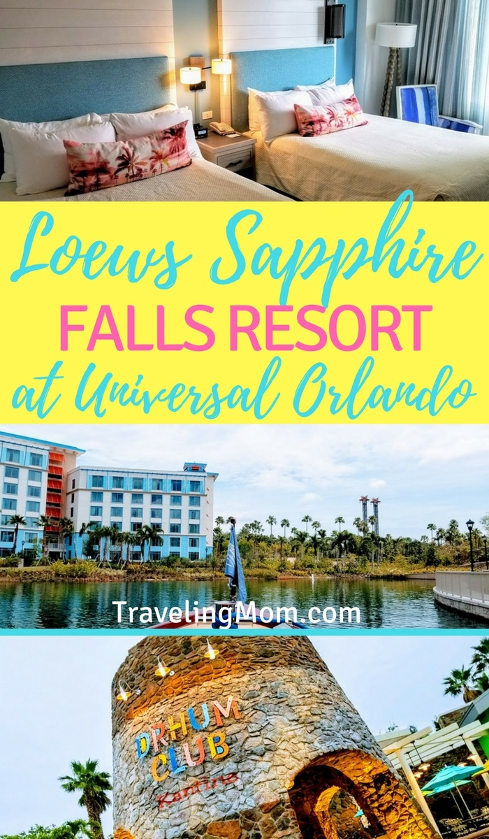 Loews Sapphire Falls Resort is one of the newest properties at Universal Studios Orlando Resort.
