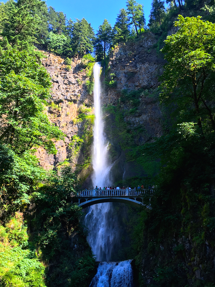 Take an Oregon family road trip to the waterfalls along Columbia River Valley.