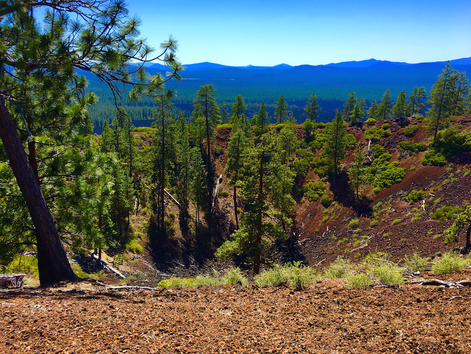 Take an Oregon Family Road trip to Bend for the Newberry National Volcanic Monument.