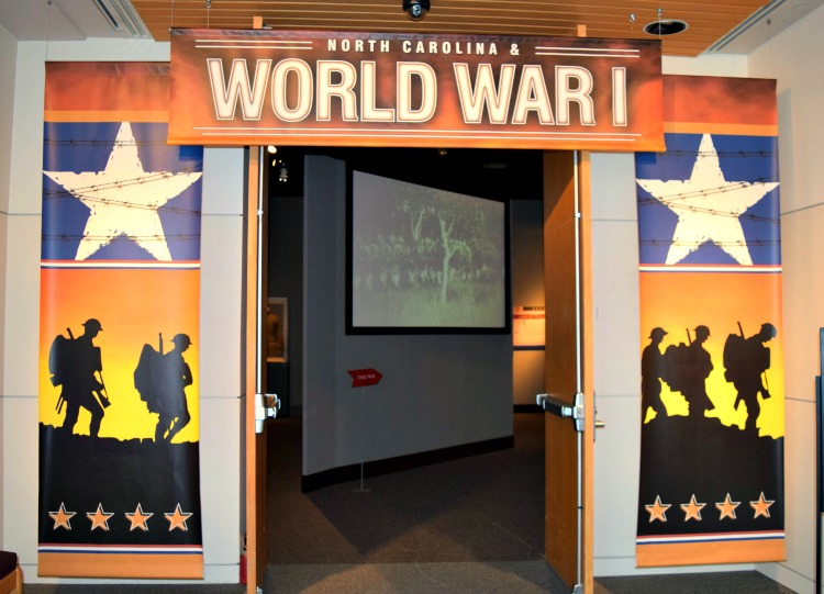 North Carolina and WWI is an exhibit worth the trip to the North Carolina Museum of History. And did I mention, it's one of the free things to do in Raleigh?