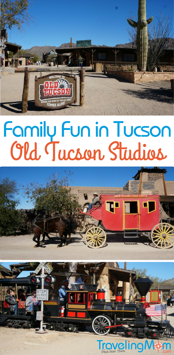 Looking for places to visit to experience family fun in Tucson, Arizona? Old Tucson Studios has plenty of things to offer for all family members.