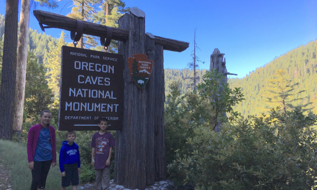 How to Make Memories with Your Kids in Oregon Caves