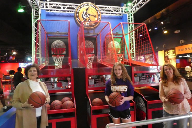 Shooting hoops is fun for all ages, making Kansas City a great multi generation destination.