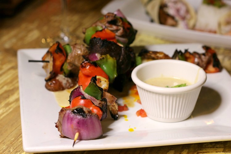 The Steak & Shrimp Brochettes tasted as good as they look, helping to make this one of the best restaurants in Clearwater, Florida