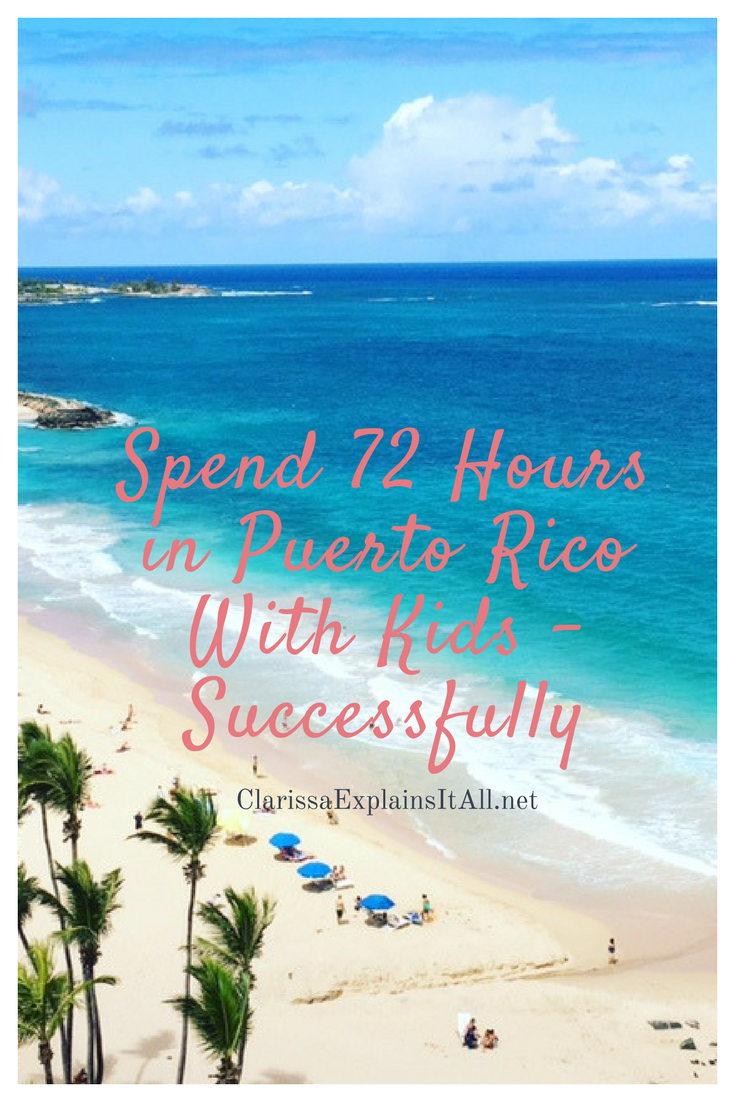 Headed to Puerto Rico but only have a weekend to enjoy? Here's our best tips for exploring a weekend in Puerto Rico with kids!