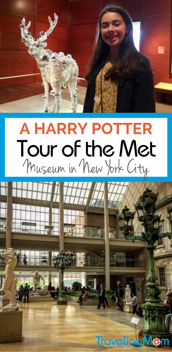 A Harry Potter themed tour of the Met brings the art to life