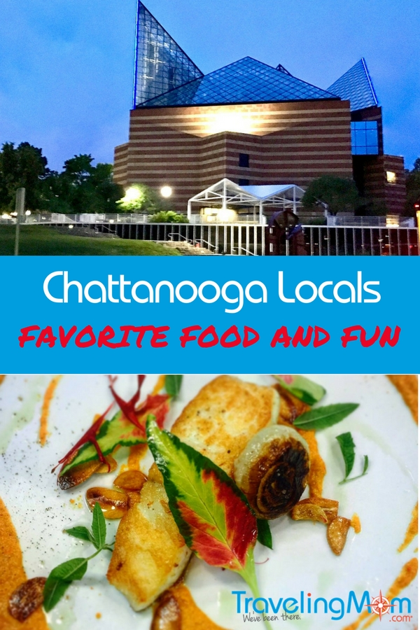 Pin me for Chattanooga local favorites for food and fun include the downtown area