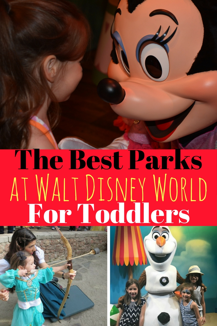 Taking toddlers to Disney World? No problem! These are the best Disney World parks and ride for toddlers. Magic Kingdom tops the list, but should you bother with Epcot, Animal Kingdom, or Hollywood Studios?