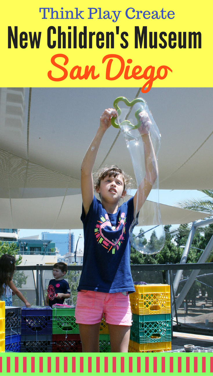 "See how kids can ""Think, Play and Create"" at The New Children's Museum in San Diego California"