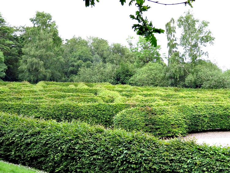 Carfunnock Country Park's hedge maze is one of the fun things for families in Northern Ireland.