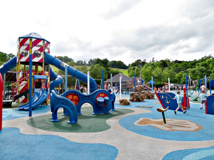 Carfunnock Country Park offers a great playground and is one of many fun things for families in Northern Ireland.