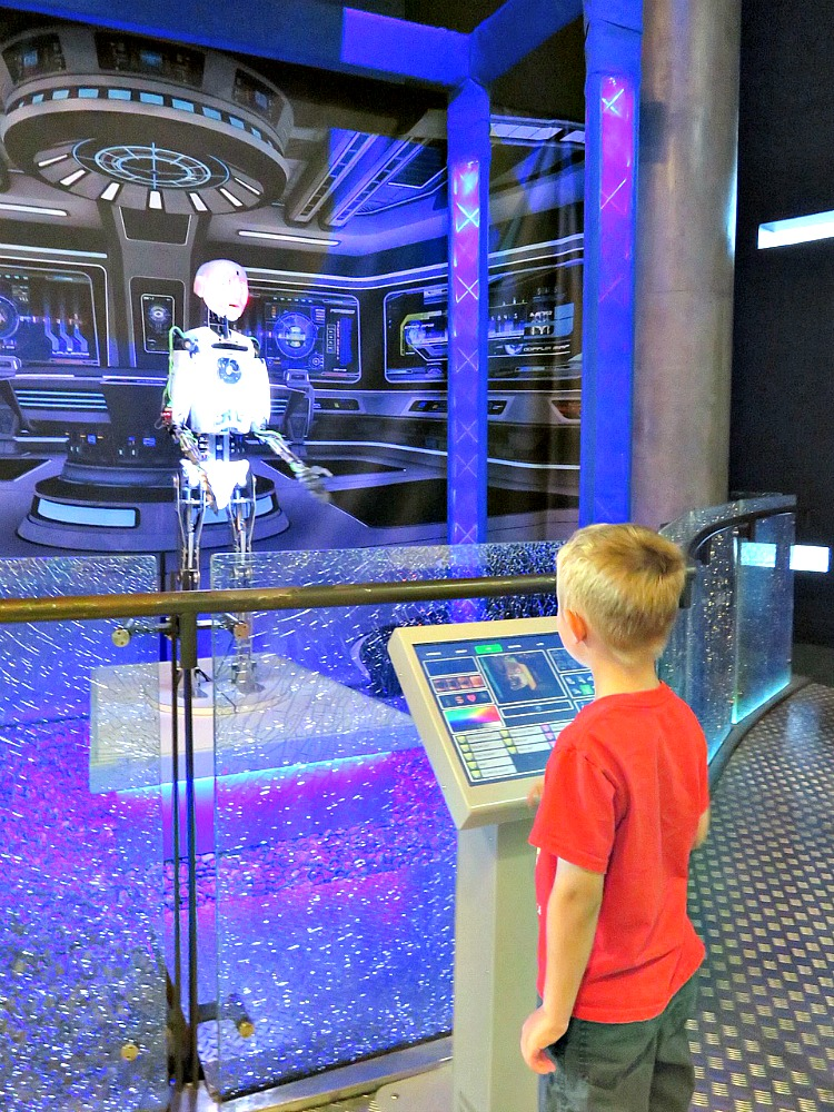 Kids will love the programmable robot at W5. Put this museum on your itinerary for things for families in Northern Ireland.