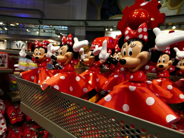 Cute minnie Mouse souvenirs at Walt Disney World