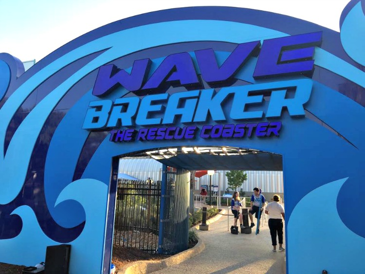 6 Things to Know about Wave Breaker: The Rescue Coaster at SeaWorld San Antonio