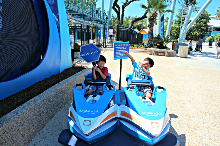Love technology? Hate wild loops and hills? The Wave Breaker at SeaWorld San Antonio may be for you. Here's the scoop on the latest coaster.
