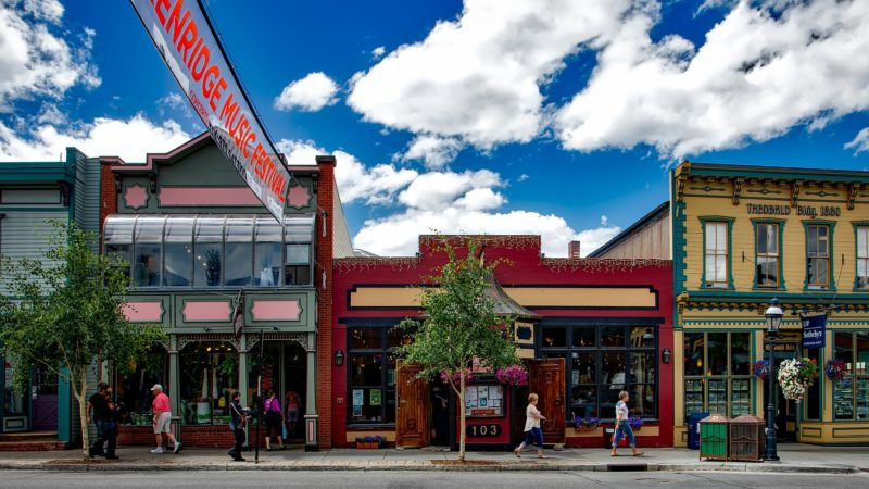 Exploring the historic charming town is one of the fun things to do in Breckenridge beyond skiing.