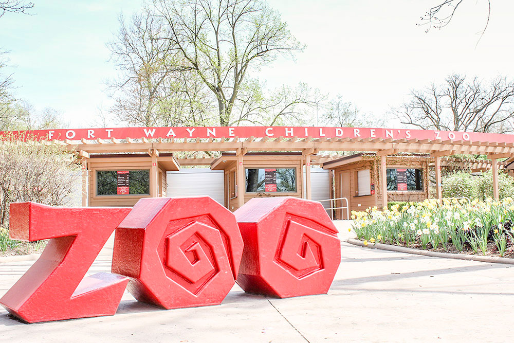 The zoo in Fort Wayne is a children's zoo, but that doesn't mean it's just for kids. Affordable Family Fun in Fort Wayne, IN