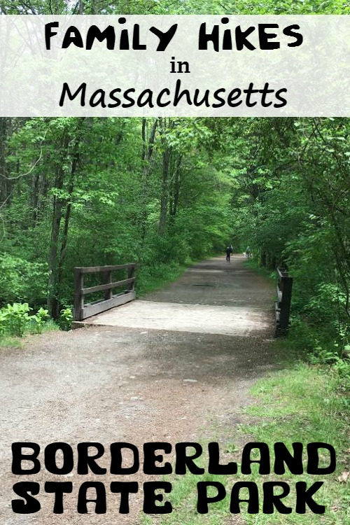 Looking for family hikes in Massachusetts? You'll find great choices at Borderland State Park.