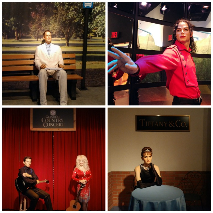 The Hollywood Wax Museum is a fun indoor attraction in Pigeon Forge,TN with numerous photo opportunities with wax figures of famous people.