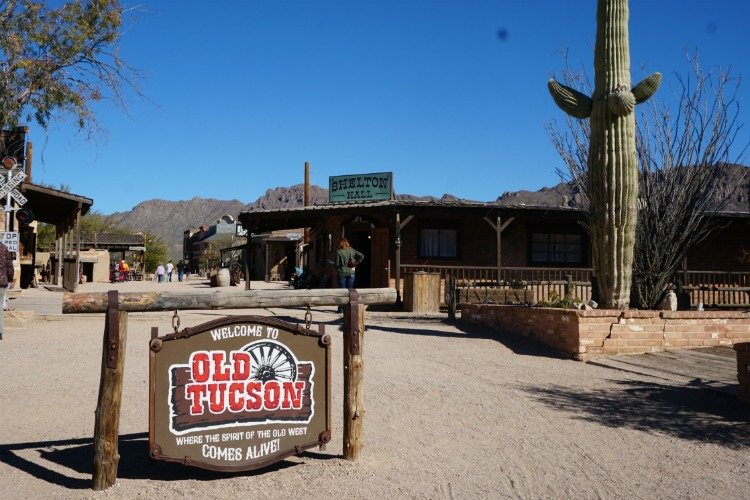 Old Tucson Studios has plenty to offer for those looking for family fun in Tucson, Arizona. Photo by Multidimensional TravelingMom, Kristi Mehes.