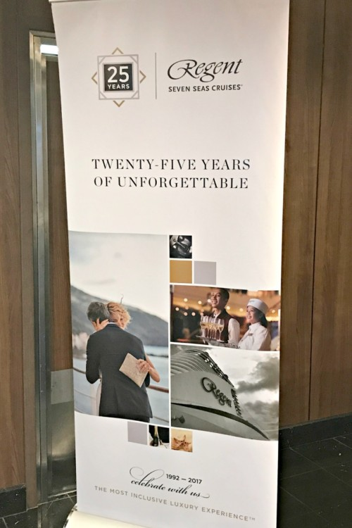 Regent Seven Seas Cruise Line is celebrating its 25th year with red carpet celebrations. From special lunches, to seminars at sea you are sure to enjoy.