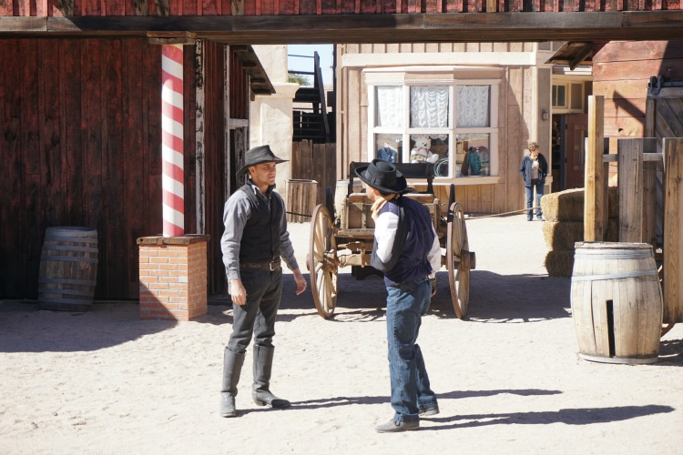 There's also entertaining stunt shows at Old Tucson Studios. Photo by Multidimensional TravelingMom, Kristi Mehes.
