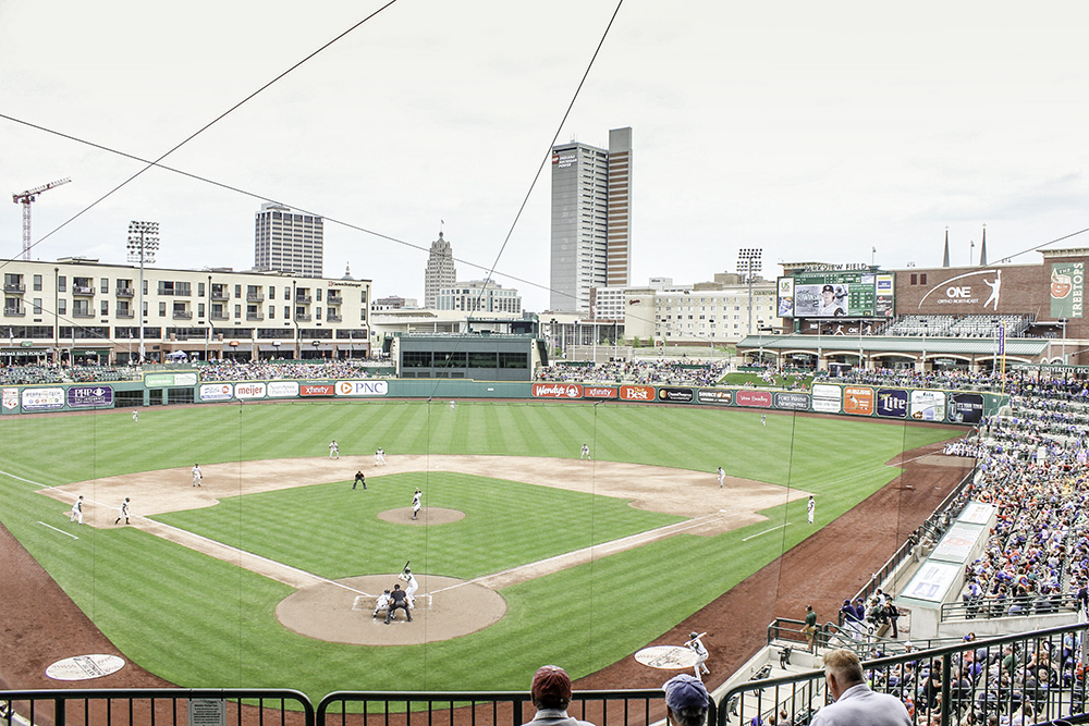 A TinCaps game is just one of the many options for affordable family fun in Fort Wayne