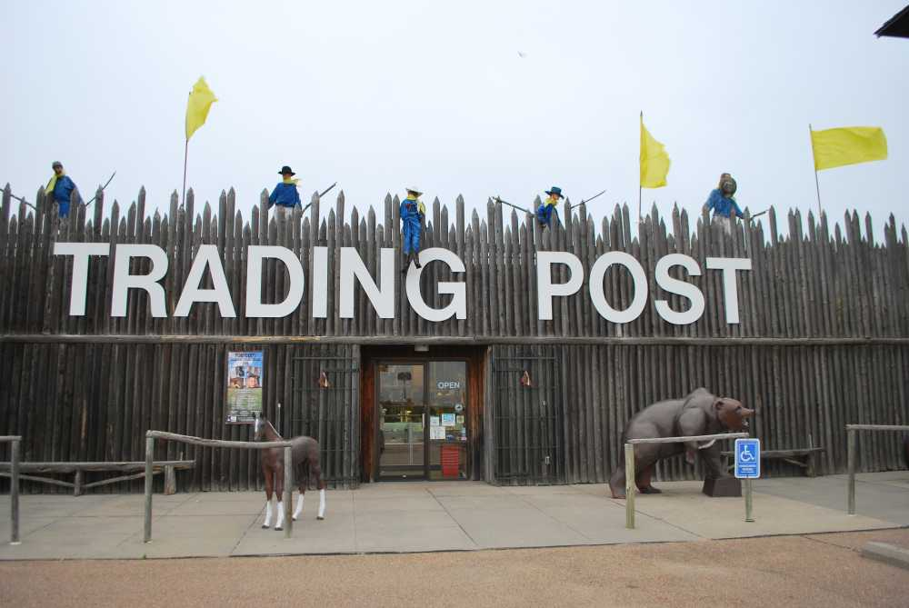 Visit the Fort Cody Trading Post to shop for old west souvenirs for family fun in Nebraska.