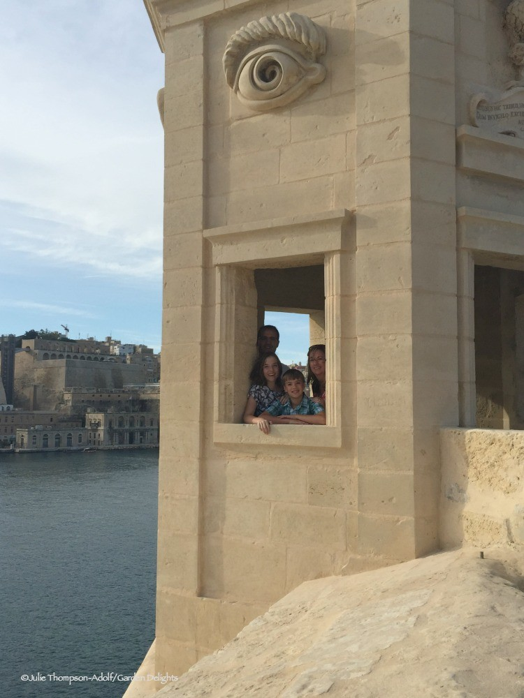 Things to Do in Malta with kids include climbing the watchtower in the Three Cities.