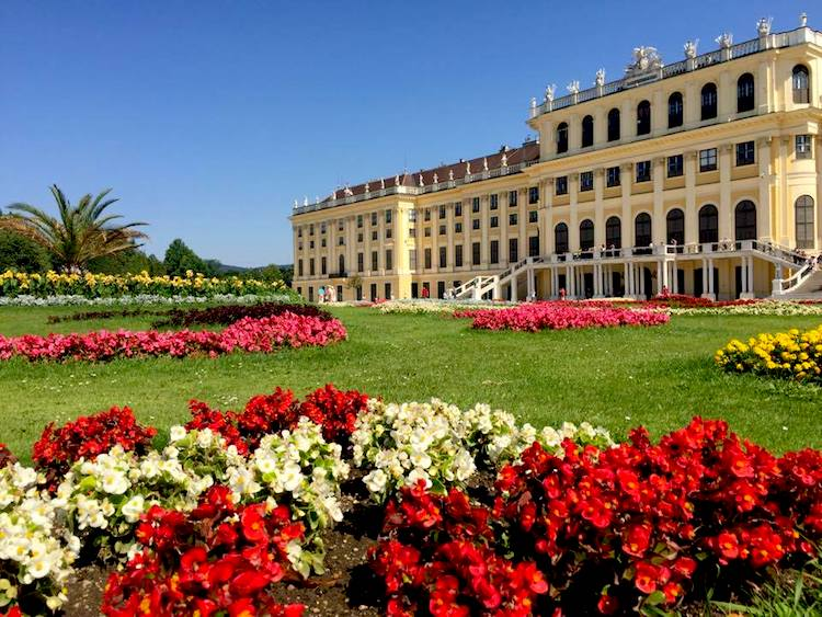 We loved the excursion on the Danube River cruise to a Vienna palace