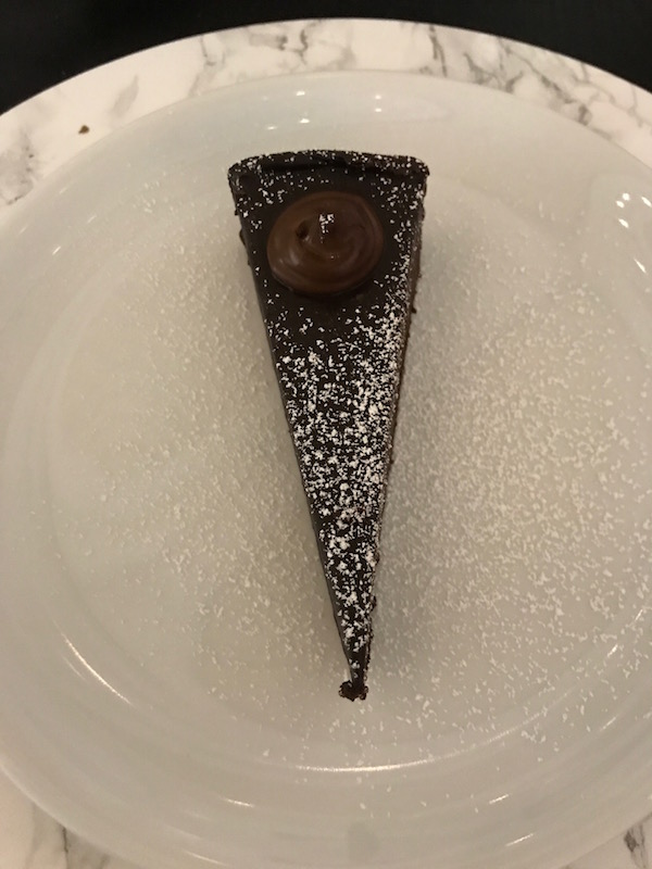 The chocolate cake in the 21c Museum Hotel is delicious!