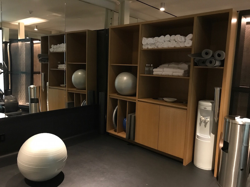 The 21c Museum Hotel has a terrific gym.