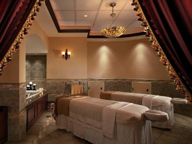 One of the luxuries to experience at The Brown Palace Hotel and Spa in Denver is the spa.