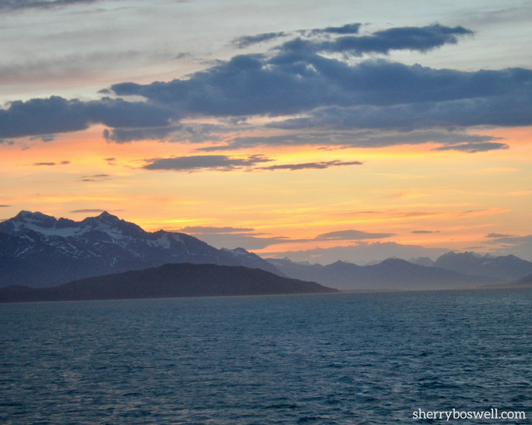 Alaska cruise tips for shooting the perfect sunset