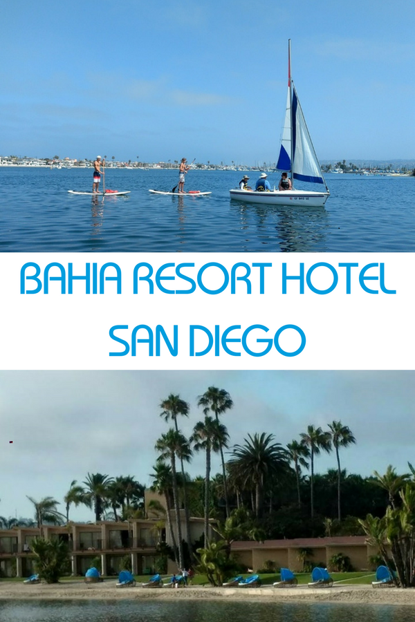 The Bahia San Diego, a family-friendly hotel near Mission Beach.