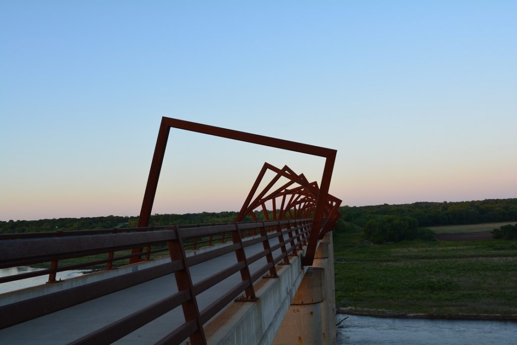 High Trestle Trail Bridge is just one of unique reasons to visit Central Iowa.