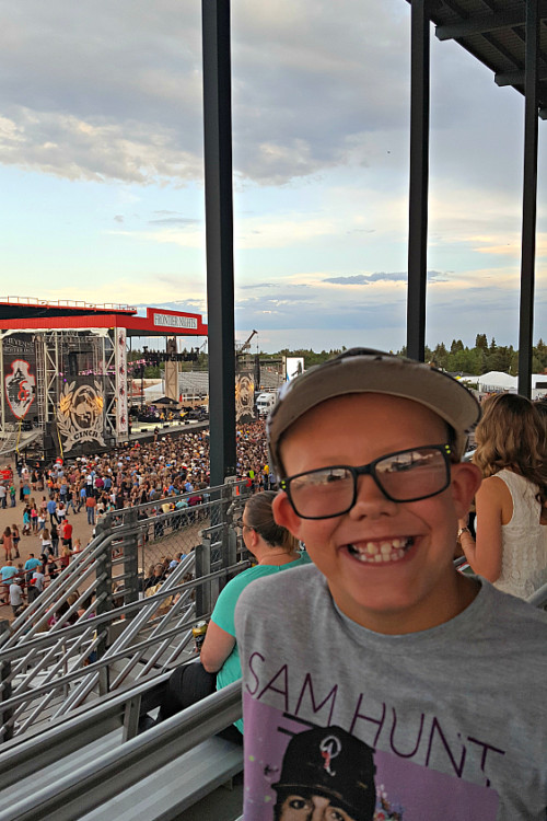 Kids enjoy first concert, One of 9 things to do with kids in Cheyenne, Wyoming