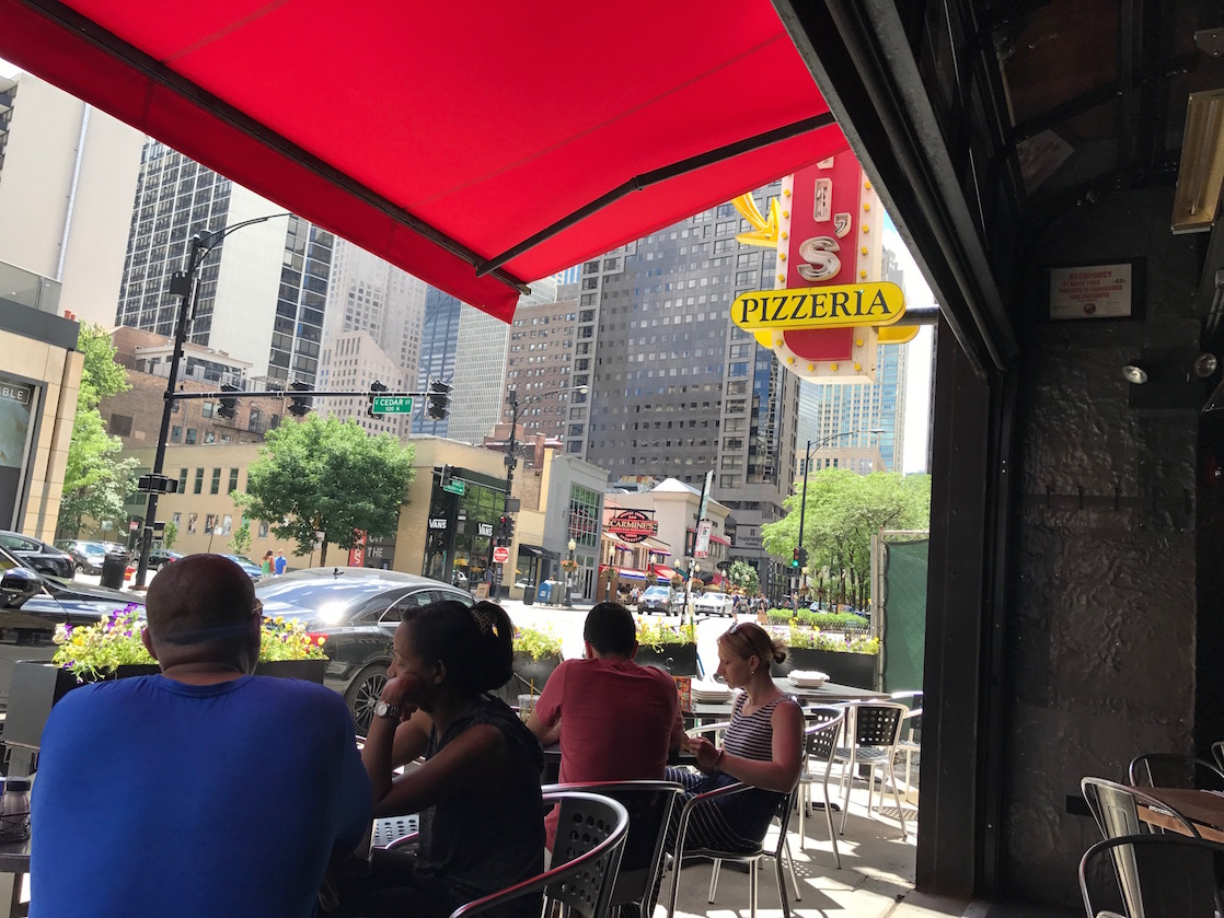 On every Chicago for foodies list: deep dish pizza