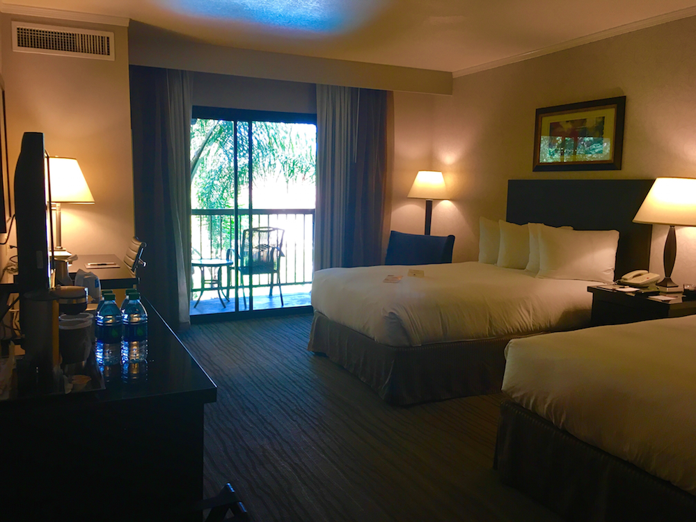 Doubletree Claremont rooms - where to stay in Claremont California